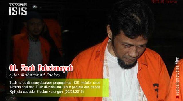 Tuah Febriansyah alias Muhammad Fachry