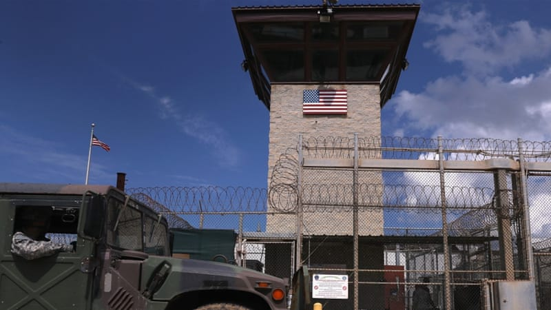 Forty-one detainees remain at the US-run prison at Guantanamo Bay, Cuba [John Moore/Getty Images]