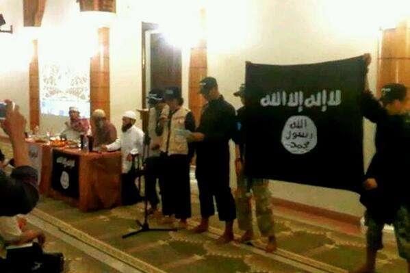 Ilustrasi Pendukung ISIS
